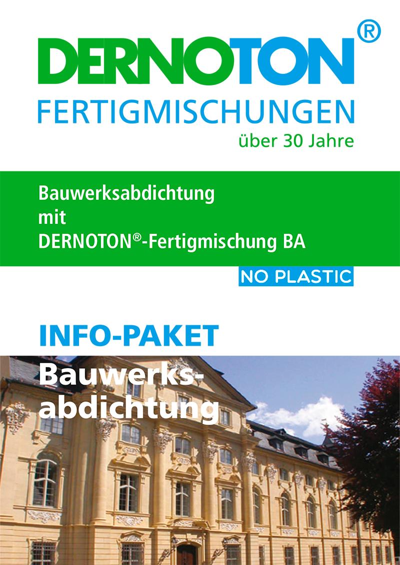DERNOTON Info-Paket Bauwerksabdichtung