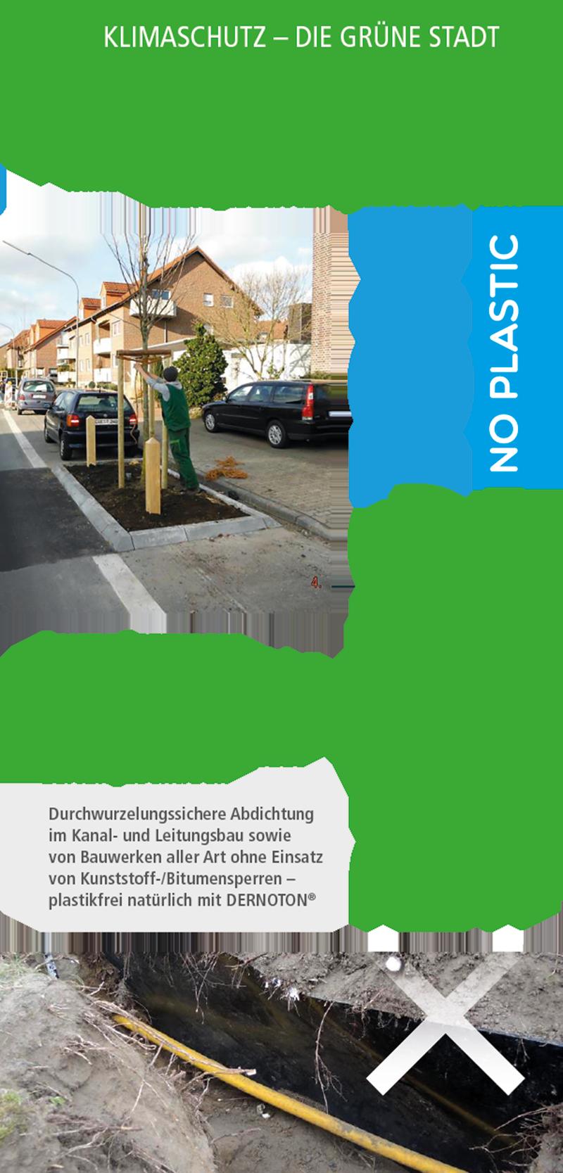 DERNOTON Faltblatt Die Grüne Stadt