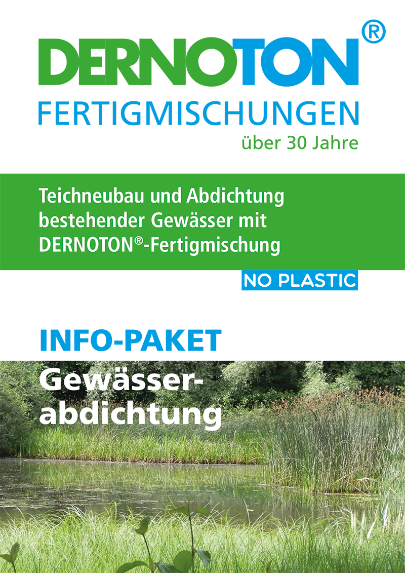 DERNOTON Info-Paket Gewässerabdichtung
