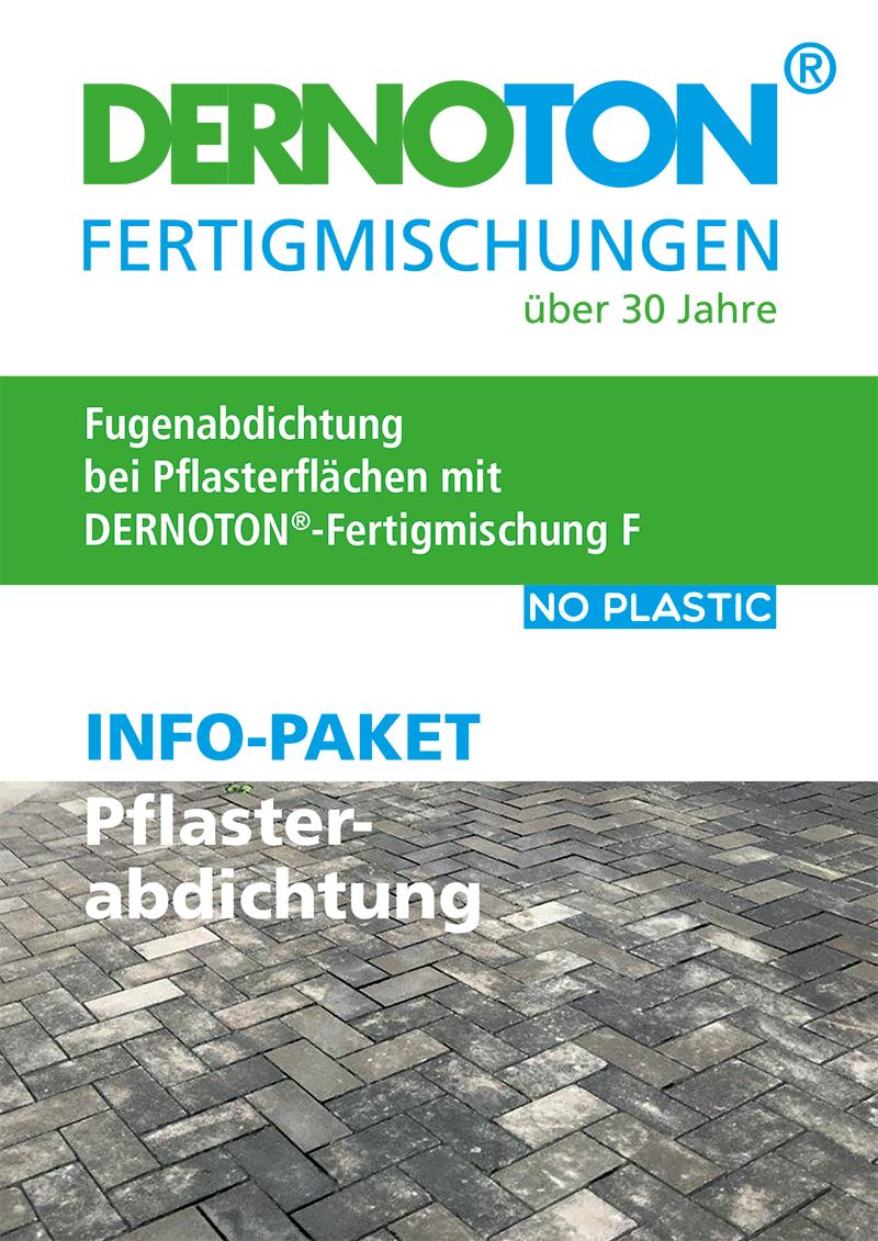 DERNOTON Info-Paket Pflasterabdichtung