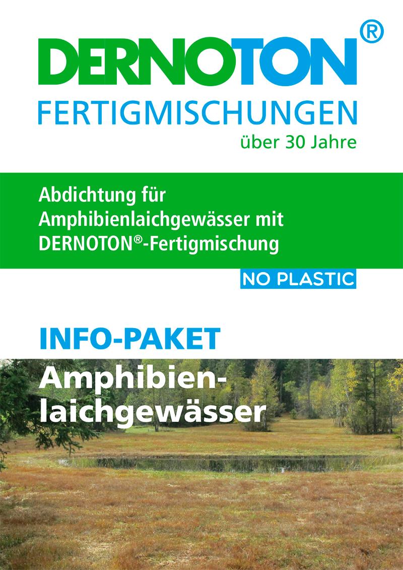 DERNOTON Info-Paket Amphibienlaichgewässer